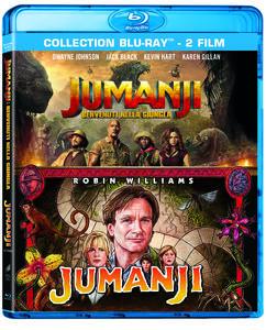 Film Jumanji Collection (2 Blu-ray) Jake Kasdan Joe Johnston