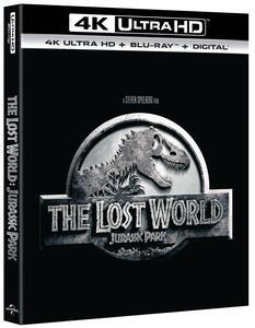 Il mondo perduto: Jurassic Park (Blu-ray + Blu-ray 4K Ultra HD) di Steven Spielberg - Blu-ray + Blu-ray Ultra HD 4K