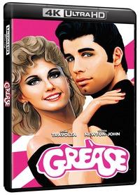 Cover Dvd Grease. Edizione 40° Anniversario (Blu-ray Ultra HD 4K)
