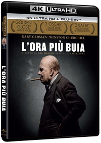 Cover Dvd L' ora più buia (Blu-ray Ultra HD 4K)