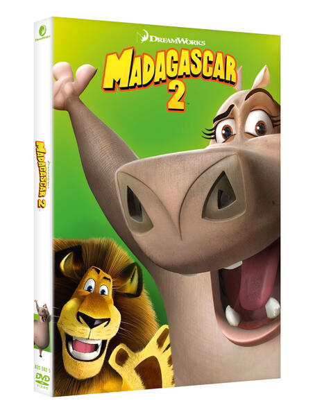 Madagascar 2 (DVD) di Tom McGrath,Eric Darnell - DVD