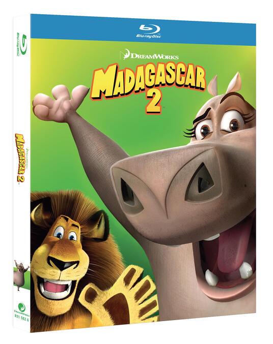 Madagascar 2 (Blu-ray) di Tom McGrath,Eric Darnell - Blu-ray