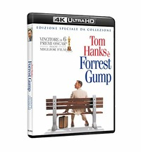 Cover Dvd Forrest Gump (Blu-ray + Blu-ray Ultra HD 4K)