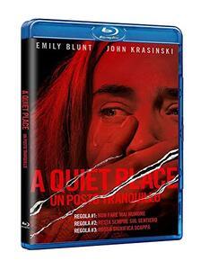 A Quiet Place. Un posto tranquillo (Blu-ray) di John Krasinski - Blu-ray