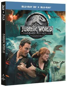 Jurassic World: Il Regno Distrutto (Blu-ray + Blu-ray 3D) di Juan Antonio Bayona - Blu-ray + Blu-ray 3D