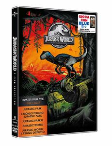 Jurassic Park. 5 Movie Collection (5 DVD) di Joe Johnston,Steven Spielberg,Colin Trevorrow,Juan Antonio Bayona
