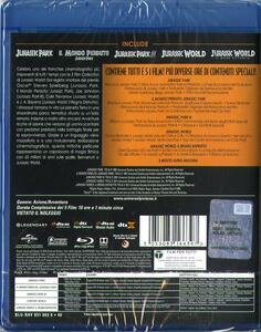 Jurassic Park. 5 Movie Collection (5 Blu-ray) di Joe Johnston,Steven Spielberg,Colin Trevorrow,Juan Antonio Bayona - 2