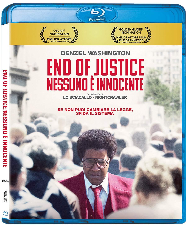 Cover Dvd DVD End of Justice - Nessuno è Innocente