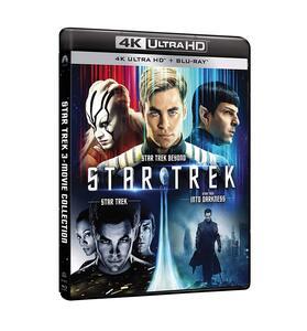 Star Trek 4k Collection (3 Blu-ray + 3 Blu-ray Ultra HD 4K) di J.J. Abrams,Justin Lin