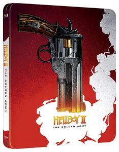 Hellboy 2. The Golden Army. 10th Anniversary Edition. Con Steelbook (Blu-ray) di Guillermo del Toro - Blu-ray