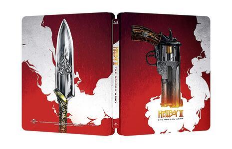 Hellboy 2. The Golden Army. 10th Anniversary Edition. Con Steelbook (Blu-ray) di Guillermo del Toro - Blu-ray - 2