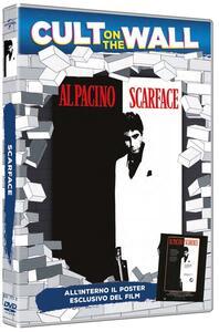Scarface. Con poster (DVD) di Brian De Palma - DVD