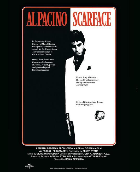 Scarface. Con poster (DVD) di Brian De Palma - DVD - 2