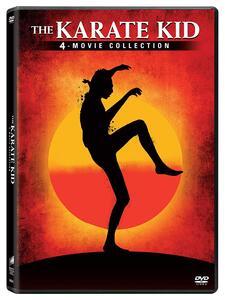 Karate Kid Collection (4 DVD) di John G. Avildsen,Christopher Cain