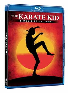 Karate Kid Collection (4 Blu-ray) di John G. Avildsen,Christopher Cain