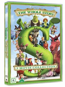 Shrek Collection 1-4 (4 DVD) di Andrew Adamson,Vicky Jenson,Kelly Asbury,Conrad Vernon,Chris Miller,Raman Hui,Mike Mitchell