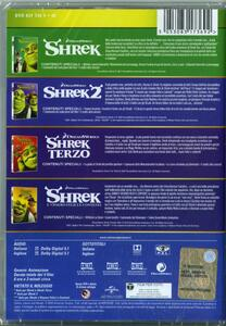 Shrek Collection 1-4 (4 DVD) di Andrew Adamson,Vicky Jenson,Kelly Asbury,Conrad Vernon,Chris Miller,Raman Hui,Mike Mitchell - 2