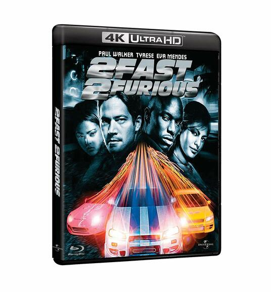 2 Fast 2 Furious (Blu-ray + Blu-ray 4K Ultra HD) di John Singleton - Blu-ray + Blu-ray Ultra HD 4K
