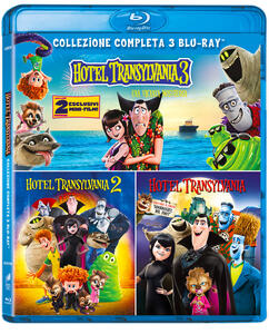Film Hotel Transylvania Collection 1-3 (3 Blu-ray) Genndy Tartakovsky