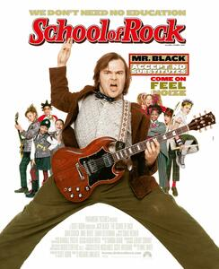 School of Rock. Con Poster (DVD) di Richard Linklater - DVD - 2