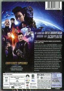 Star Trek Discovery. Stagione 1. Serie TV ita (4 DVD) di Bryan Fuller,Alex Kurtzman - DVD - 2