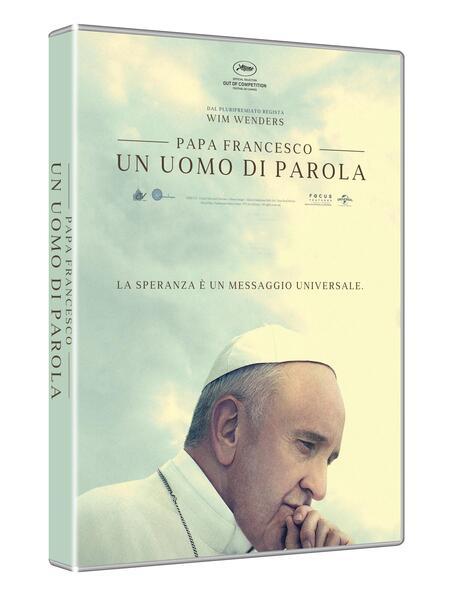 Papa Francesco. Un uomo di parola (DVD) di Wim Wenders - DVD