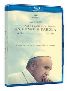 Papa Francesco. Un uomo di parola (Blu-ray) di Wim Wenders - Blu-ray