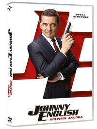 Cover Dvd Johnny English colpisce ancora (DVD)