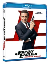 Cover Dvd Johnny English colpisce ancora (Blu-ray)