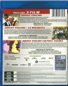 Johnny English. 3 Movie Collection (3 Blu-ray) di Howitt, Peter,Oliver Parker,David Kerr - 2
