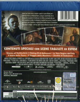 Halloween (2018) (Blu-ray) - Blu-ray - Film di David Gordon Green ... 3dfd848408af