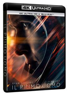 The First Man. Il primo uomo (Blu-ray + Blu-ray 4K Ultra HD) di Damien Chazelle - Blu-ray + Blu-ray Ultra HD 4K