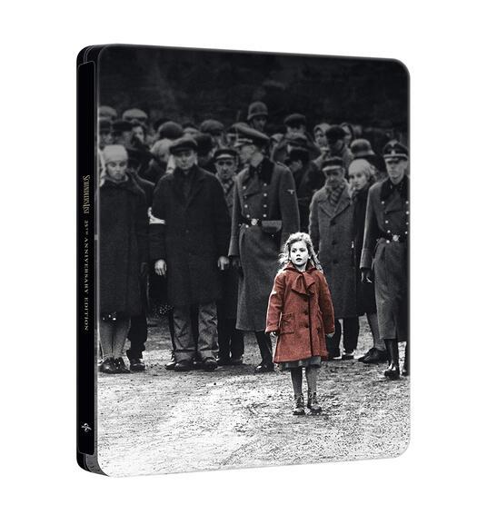 Schindler's List. Edizione 25° anniversario. Con Steelbook (2 Blu-ray + Blu-ray Ultra HD 4K) di Steven Spielberg - Blu-ray + Blu-ray Ultra HD 4K