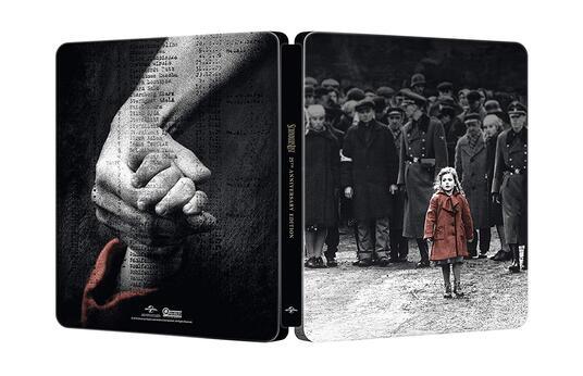 Schindler's List. Edizione 25° anniversario. Con Steelbook (2 Blu-ray + Blu-ray Ultra HD 4K) di Steven Spielberg - Blu-ray + Blu-ray Ultra HD 4K - 2