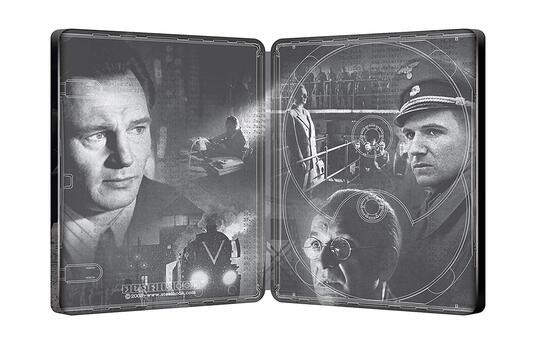 Schindler's List. Edizione 25° anniversario. Con Steelbook (2 Blu-ray + Blu-ray Ultra HD 4K) di Steven Spielberg - Blu-ray + Blu-ray Ultra HD 4K - 4