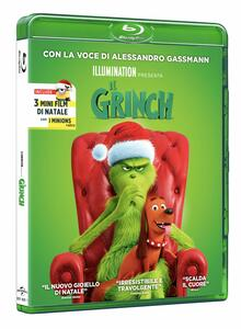 Il Grinch (Blu-ray) di Yarrow Cheney,Scott Mosier - Blu-ray
