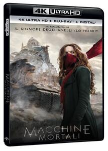Macchine mortali (Blu-ray + Blu-ray Ultra HD 4K) di Christian Rivers - Blu-ray + Blu-ray Ultra HD 4K
