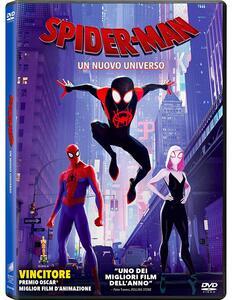 Spider-Man. Un nuovo universo (DVD) di Bob Persichetti,Peter Ramsey,Rodney Rothman - DVD