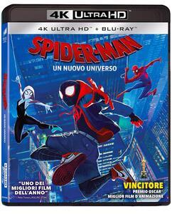 Spider-Man. Un nuovo universo (Blu-ray + Blu-ray Ultra HD 4K) di Bob Persichetti,Peter Ramsey,Rodney Rothman - Blu-ray + Blu-ray Ultra HD 4K