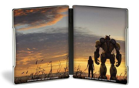 Bumblebee. Con Steelbook (Blu-ray) di Travis Knight - Blu-ray - 2