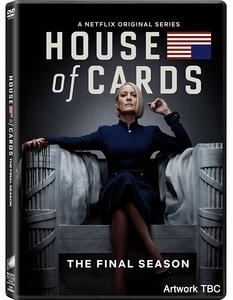 House of Cards. Stagione 6. Serie TV ita (3 DVD) di Robin Wright,Alik Sakharov,Ernest R. Dickerson,Louise Friedberg - DVD