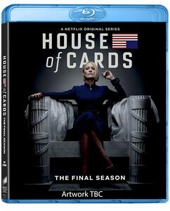 House of Cards. Stagione 6. Serie TV ita (3 Blu-ray) di Robin Wright,Alik Sakharov,Ernest R. Dickerson,Louise Friedberg - Blu-ray