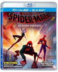 Cover Dvd Spider-Man. Un nuovo universo (Blu-ray + Blu-ray 3D)