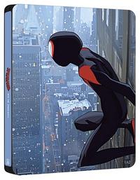 Cover Dvd Spider-Man. Un nuovo universo. Con Steelbook Esclusivo Spiderverse (Blu-Ray)