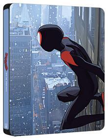 Spider-Man. Un nuovo universo. Con Steelbook Esclusivo Spiderverse (Blu-Ray) di Bob Persichetti,Peter Ramsey,Rodney Rothman - Blu-ray