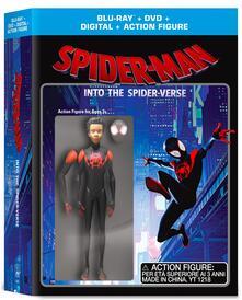 Spider-Man. Un nuovo universo. Limited Edition con Action Figure (DVD + Blu-ray) di Bob Persichetti,Peter Ramsey,Rodney Rothman - DVD + Blu-ray