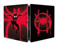 Cover Dvd Spider-Man. Un nuovo universo. Con Steelbook e Magnete (Blu-ray + Blu-ray Ultra HD 4K)