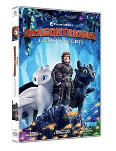 Dragon Trainer 3. Il mondo nascosto (DVD) di Dean DeBlois - DVD