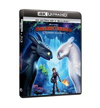 Cover Dvd Dragon Trainer 3 (Blu-ray + Blu-ray 4K Ultra HD)