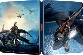 Film Dragon Trainer 3. Il mondo nascosto  How to Train Your Dragon: The Hidden World Con Steelbook (Blu-ray + Blu-ray 3D) Dean DeBlois